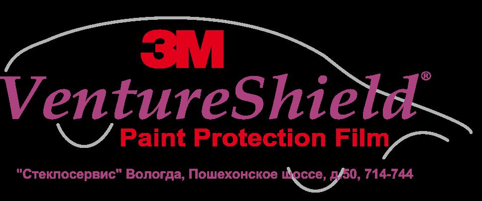 3M VentureShield Car Logo